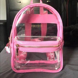 Mini Pink Backpack
